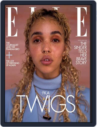 Elle Magazine (Digital) March 1st, 2021 Issue Cover