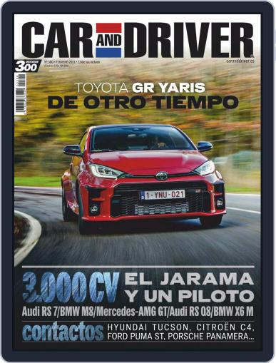 Car and Driver - España Magazine (Digital) February 1st, 2021 Issue Cover