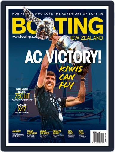 Boating NZ Magazine (Digital) April 1st, 2021 Issue Cover