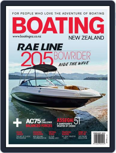 Boating NZ Magazine (Digital) February 1st, 2021 Issue Cover