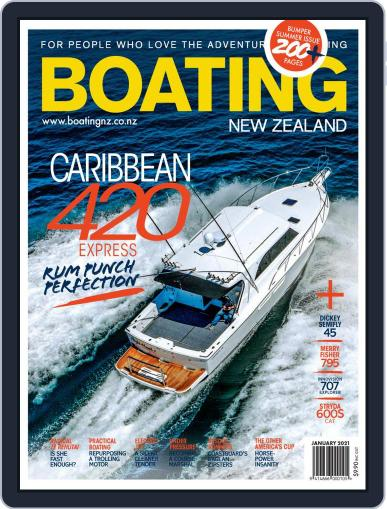 Boating NZ Magazine (Digital) January 1st, 2021 Issue Cover