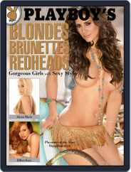 Playboy's Blondes, Brunettes, And Redheads (Digital) Subscription January 1st, 2011 Issue