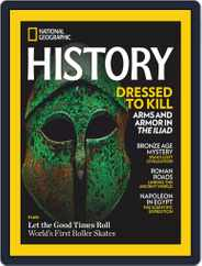 National Geographic History Magazine (Digital) Subscription January 1st, 2021 Issue