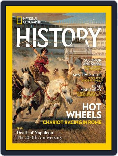 National Geographic History Magazine (Digital) May 1st, 2021 Issue Cover