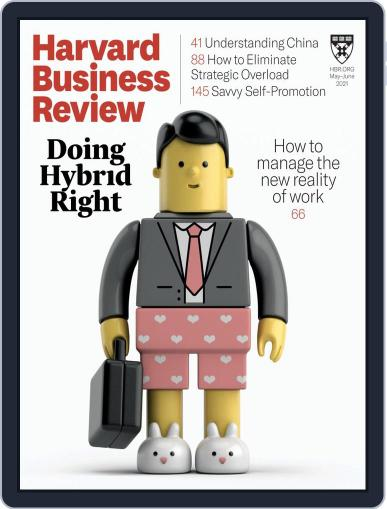 Harvard Business Review Magazine (Digital) May 1st, 2021 Issue Cover