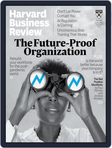 Harvard Business Review Magazine (Digital) September 1st, 2021 Issue Cover