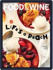 Food & Wine Magazine (Digital) Subscription August 1st, 2021 Issue