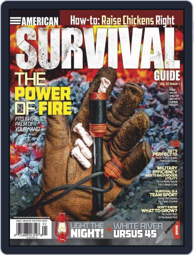 American Survival Guide Magazine (Digital) January 1st, 2021 Issue Cover