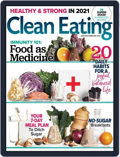 Clean Eating Magazine (Digital) January 1st, 2021 Issue Cover
