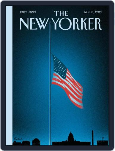 The New Yorker Magazine (Digital) January 18th, 2021 Issue Cover