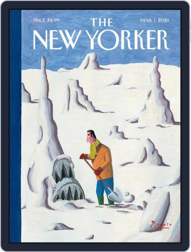 The New Yorker Magazine (Digital) March 1st, 2021 Issue Cover