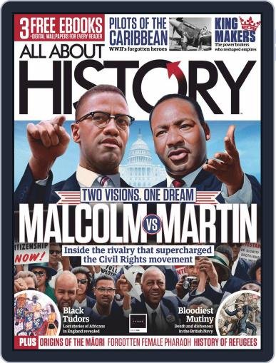 All About History Magazine (Digital) November 1st, 2020 Issue Cover