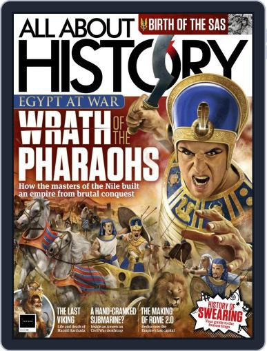 All About History Magazine (Digital) July 1st, 2021 Issue Cover