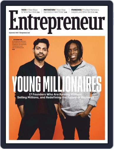 Entrepreneur Magazine (Digital) September 1st, 2020 Issue Cover