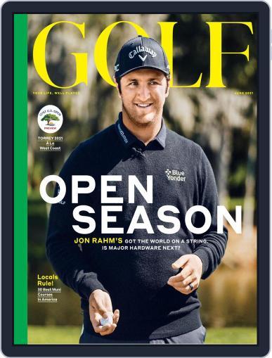 Golf Magazine (Digital) June 1st, 2021 Issue Cover