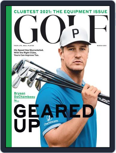 Golf Magazine (Digital) March 1st, 2021 Issue Cover