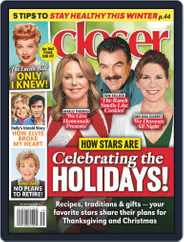 Closer Weekly Magazine (Digital) Subscription December 7th, 2020 Issue
