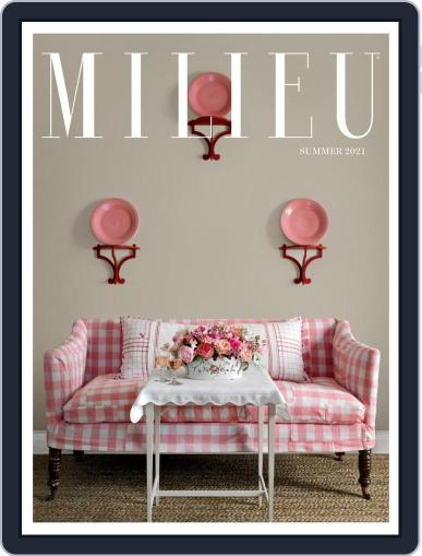 MILIEU Magazine (Digital) May 25th, 2021 Issue Cover