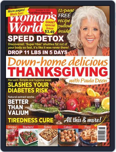 Woman's World Magazine (Digital) November 16th, 2020 Issue Cover