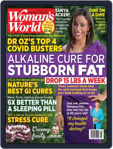 Woman's World Magazine (Digital) October 19th, 2020 Issue Cover