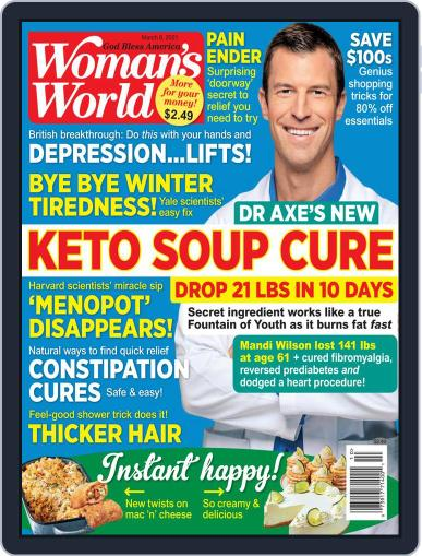 Woman's World Magazine (Digital) March 8th, 2021 Issue Cover