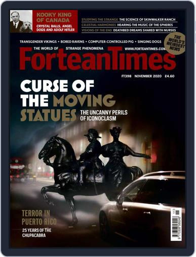 Fortean Times Magazine (Digital) November 1st, 2020 Issue Cover
