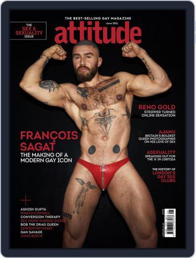 Attitude Magazine (Digital) June 1st, 2021 Issue Cover