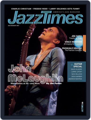 JazzTimes Magazine (Digital) July 1st, 2021 Issue Cover