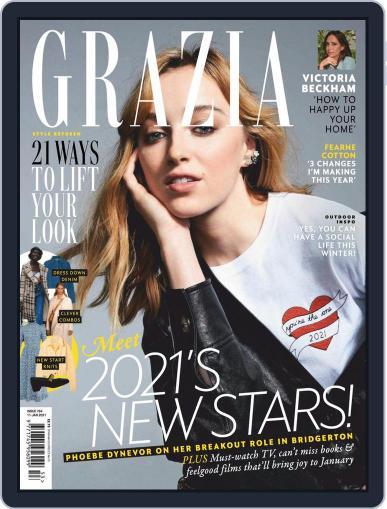 Grazia Magazine (Digital) January 11th, 2021 Issue Cover