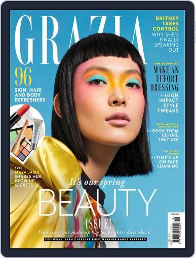 Grazia Magazine (Digital) May 17th, 2021 Issue Cover