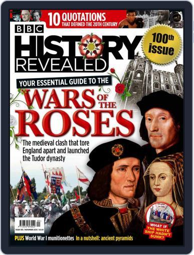 History Revealed Magazine (Digital) November 1st, 2021 Issue Cover