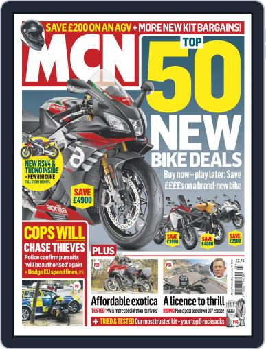 MCN Magazine (Digital) January 20th, 2021 Issue Cover