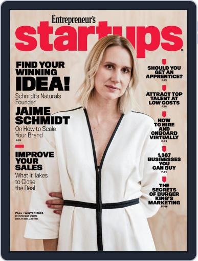 Entrepreneur's Startups Magazine (Digital) December 1st, 2020 Issue Cover