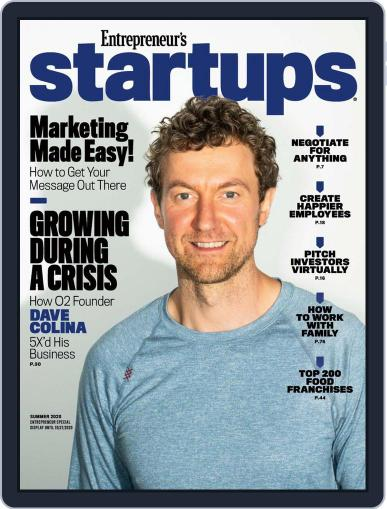 Entrepreneur's Startups Magazine (Digital) July 28th, 2020 Issue Cover