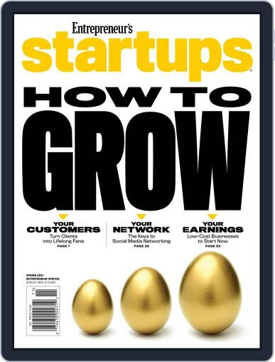 Entrepreneur's Startups Magazine (Digital) March 16th, 2021 Issue Cover