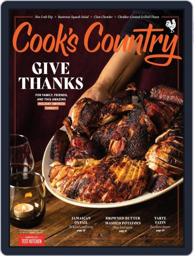 Cook's Country Magazine (Digital) October 1st, 2021 Issue Cover