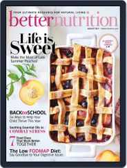 Better Nutrition Magazine (Digital) Subscription August 1st, 2021 Issue