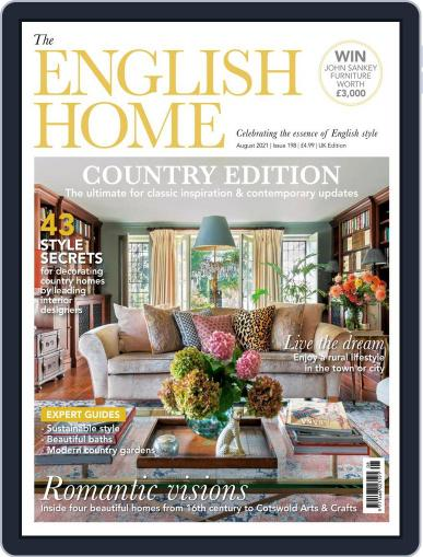 The English Home Magazine (Digital) August 1st, 2021 Issue Cover