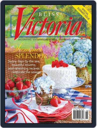 Victoria Magazine (Digital) July 1st, 2021 Issue Cover