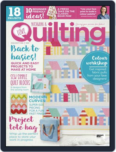 Love Patchwork & Quilting Magazine (Digital) September 1st, 2020 Issue Cover