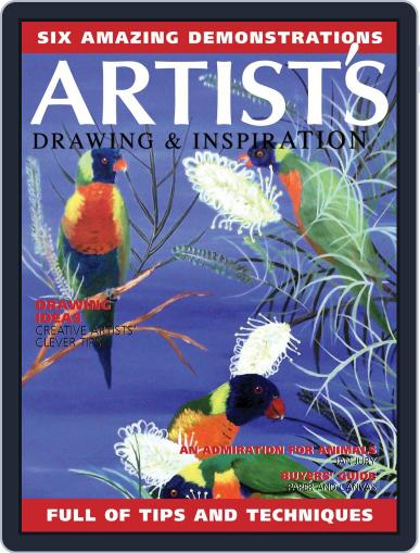 Artists Drawing and Inspiration Magazine (Digital) September 1st, 2020 Issue Cover