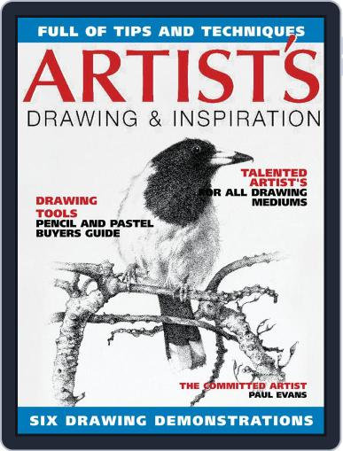Artists Drawing and Inspiration Magazine (Digital) May 1st, 2021 Issue Cover