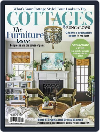 Cottages and Bungalows Magazine (Digital) April 1st, 2021 Issue Cover