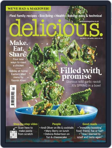 Delicious UK Magazine (Digital) April 1st, 2021 Issue Cover