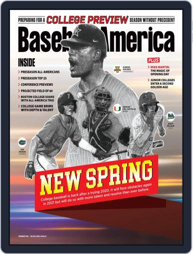 Baseball America Magazine (Digital) February 1st, 2021 Issue Cover