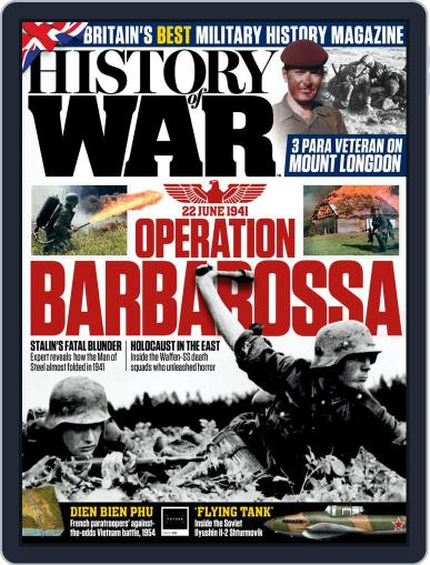 History of War Magazine (Digital) June 3rd, 2021 Issue Cover
