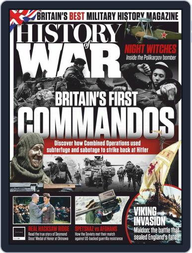 History of War Magazine (Digital) March 1st, 2021 Issue Cover