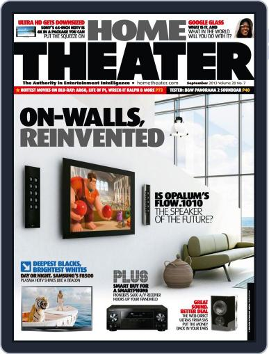Home Theater (Digital) September 1st, 2013 Issue Cover