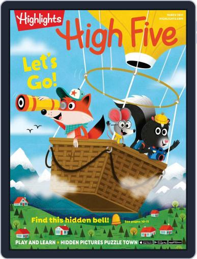Highlights High Five Magazine (Digital) March 1st, 2021 Issue Cover