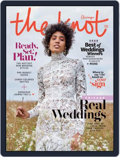 The Knot Chicago Weddings January 27th, 2020 Digital Back Issue Cover
